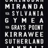 Cronulla tram and bus scroll, destination print