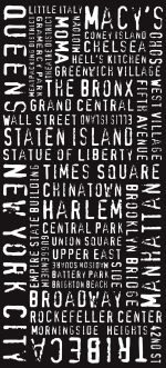 NYC - Modernista - Letterpress font