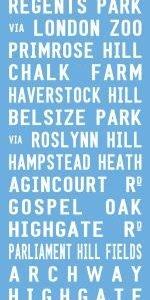 Primrose Hill - Pastel Blue