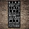 Essendon Bombers Tram Scroll AFL Sports Footy Artwork Print|