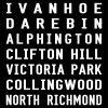 Hurstbridge Line Melbourne Train Word Art