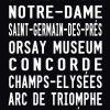 Madeleine to the Eiffel Tower via Champs Elysee Paris Tram Scroll|Paris - Full Line