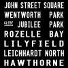 Dulwich Hill Sydney Inner West Tram Route Art